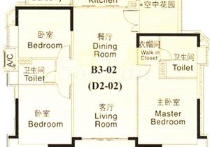 汇景新城,笋笋笋,高楼层豪华3房,三阳台,全明开间,宽敞厅堂